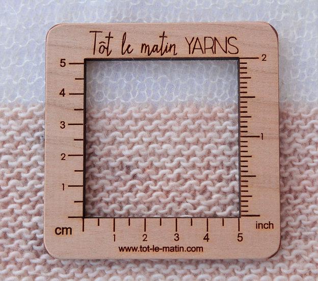 Jauge carrée - 5 cm