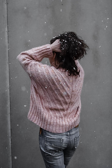 Fishbone Chunky Sweater