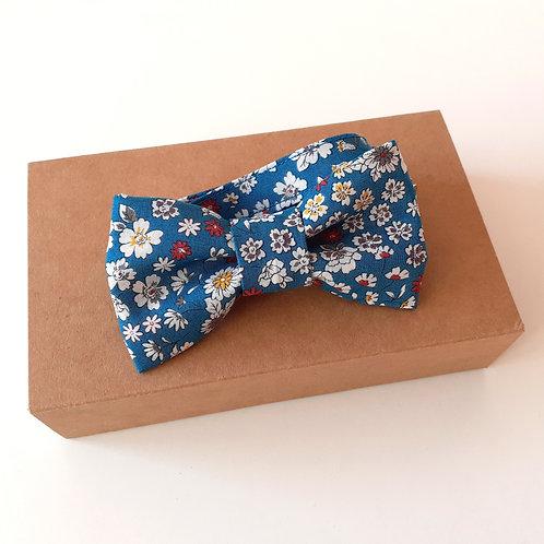 Noeud Papillon froufrou bleu