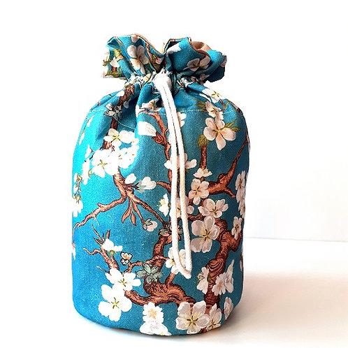 Trousse baluchon-cerisier bleu