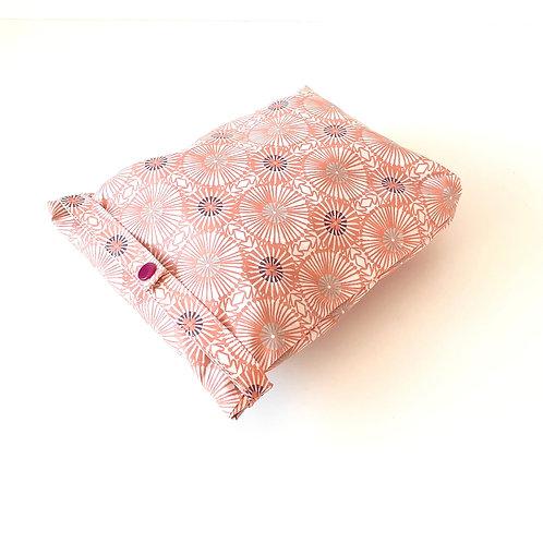 Pochettes modulables pissenlit rose