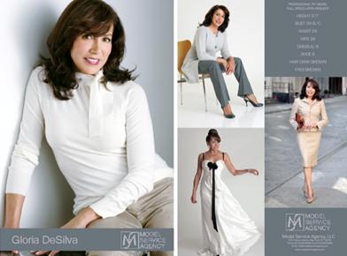 Behind the Scenes with former Liz Claiborne Fit Model, Gloria DeSilva
