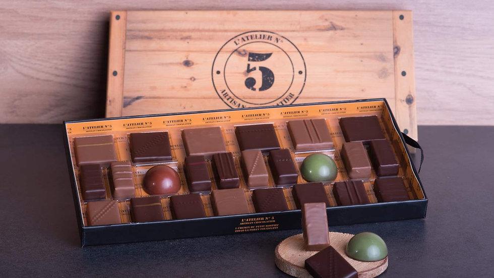 COFFRETS 24 CHOCOLATS