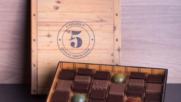 COFFRETS 36 ou 72 CHOCOLATS
