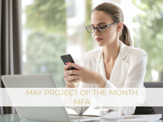 May Project of the Month - MFA