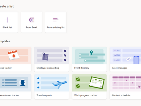 How to Use SharePoint List as a Content Planner