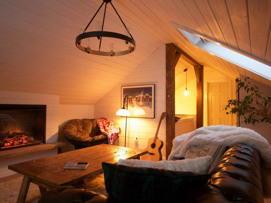 Rustic Attic Renovation