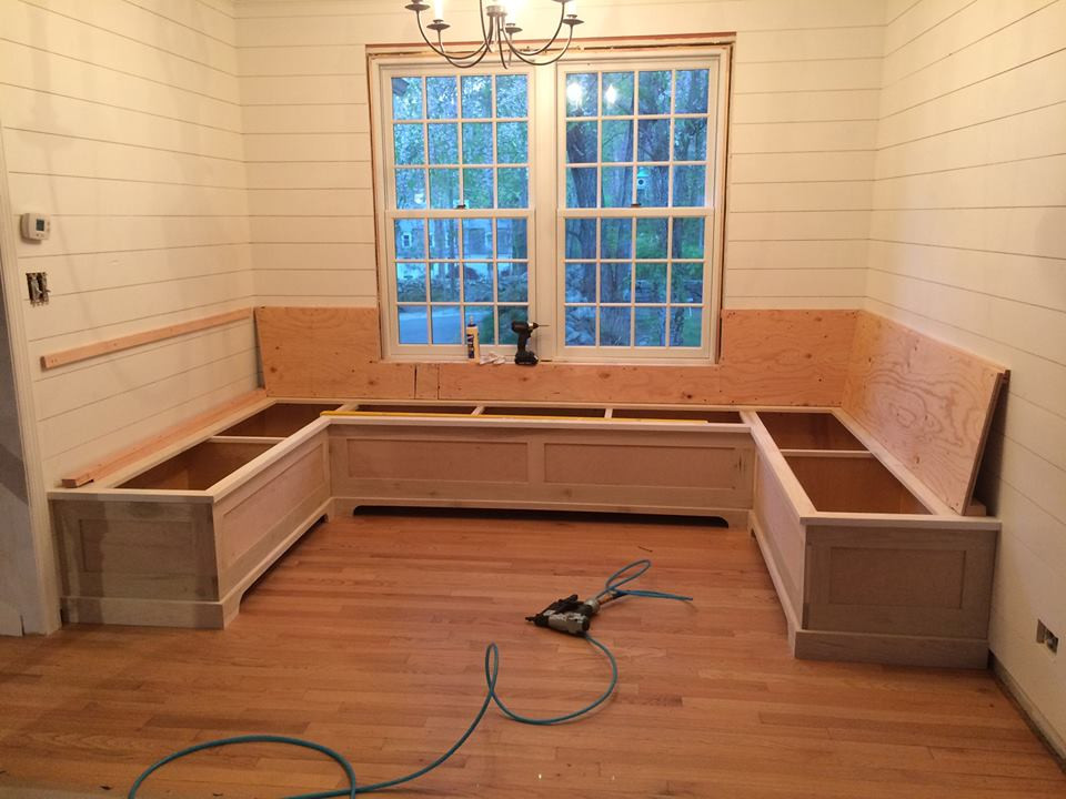 Built-in Bench Seating