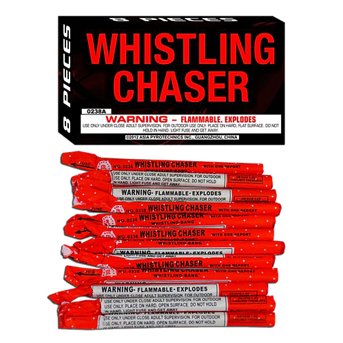 Whistling Chasers Box of 8