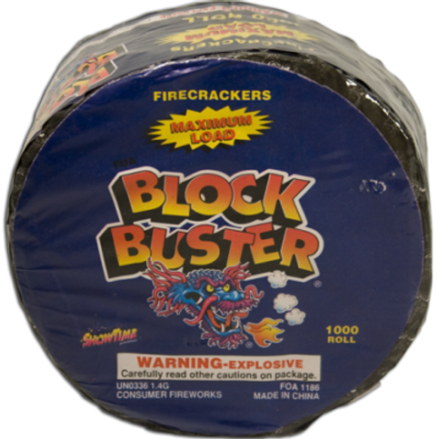 Firecrackers Blockbuster Roll of 1000