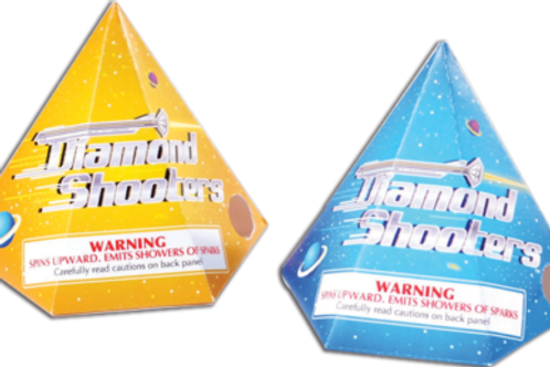Diamond Shooters pkg of 4