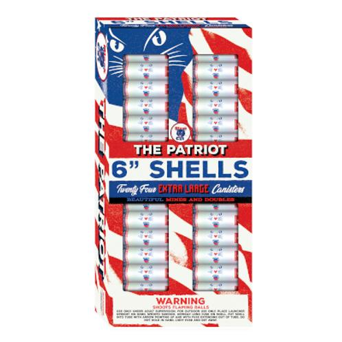 "BC The Patriot 6"" Shells"