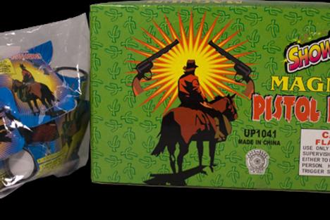 Magnum Pistol Popper Box of 36