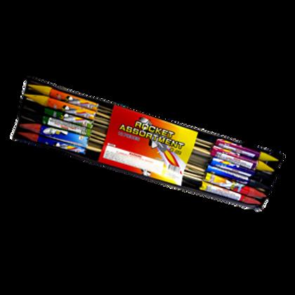Rockets Asst 8 oz Box of 12