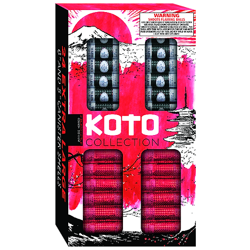 "KOTO Collection 5"" & 6"" Shells"