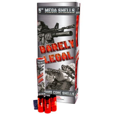 """Barely Legal 5"""" Shells"""