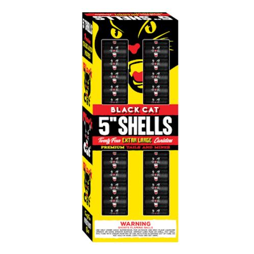 """Black Cat 5"""" Shells"""