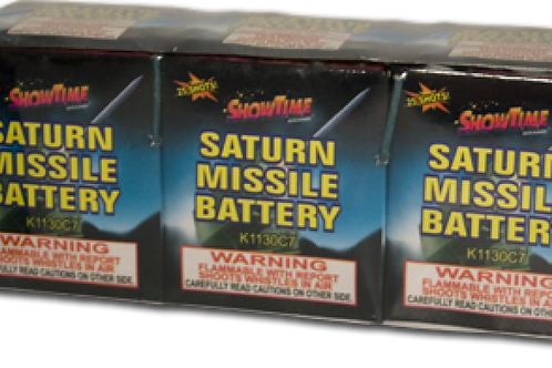 25 Saturn Missile 25 Shot pk of 4