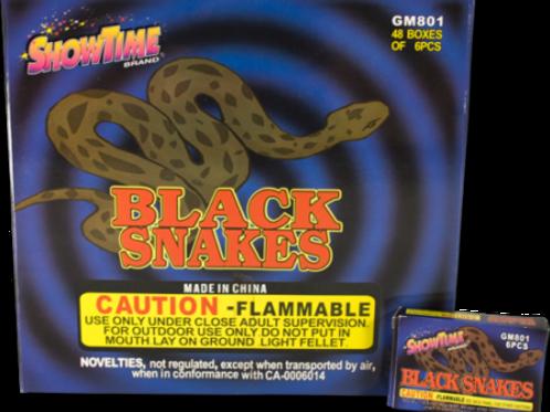 Snakes Black Box of 48/6pcs