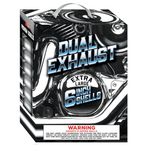 "Dual Exhaust 6"" Shells"