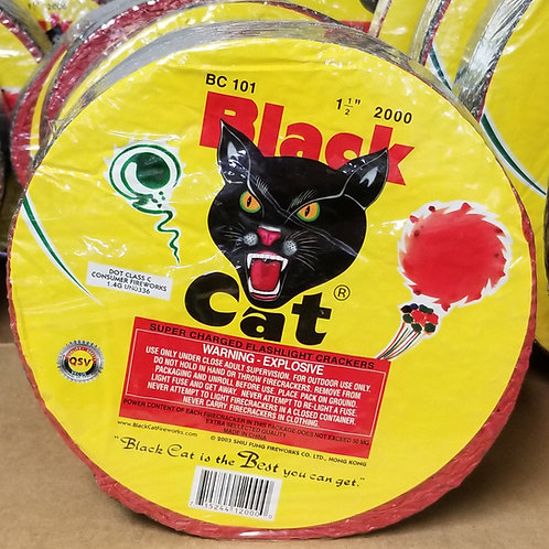 Roll of 2000 Black Cat Firecrackers