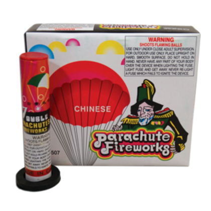 Parachute Chinese box of 6