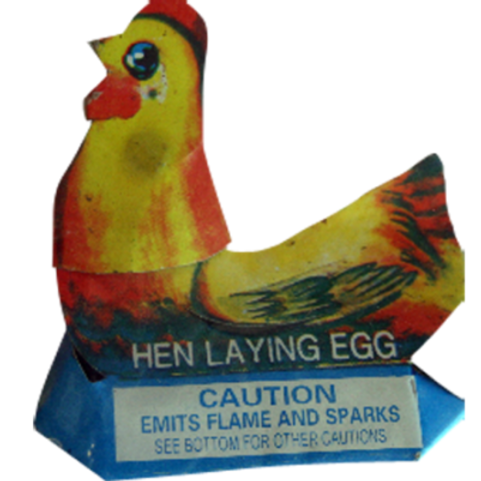 Hen Laying Eggs singles
