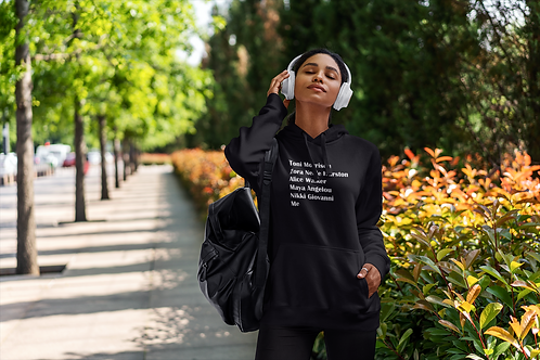 Our Famous Black Female Authors Hoodie