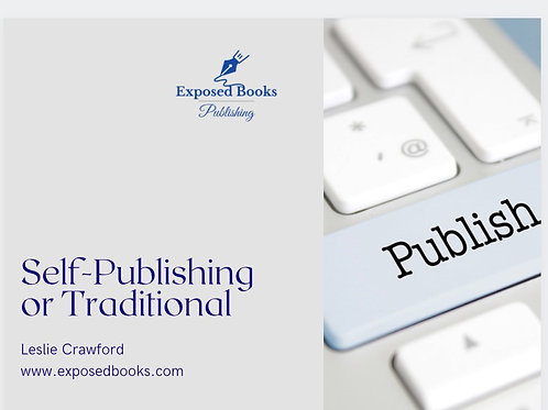 Self-Publishing or Traditional