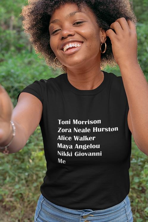 Our Famous Black Female Authors T-Shirt