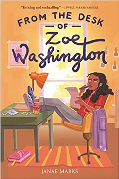 From The Desk Of Zoe Washington  Paperback