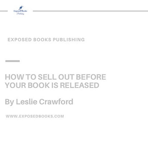How to Successfully Sell Out of Your Book