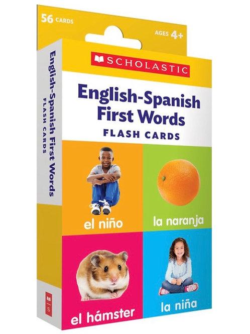English Spanish Flash Cards