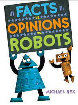 Facts VS Opinions VS Robots Hardcover