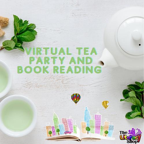 March Virtual Tea Party and Book Reading : Cocoa Tea & Honey