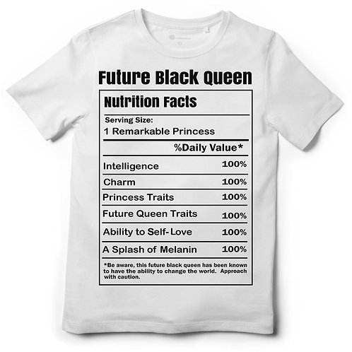 Future Black Queen Nutrition Facts