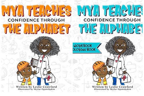 Mya Teaches Confidence Through the Alphabet Combo Paperback