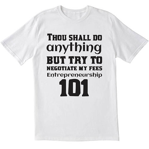Entrepreneurship 101 T-Shirt
