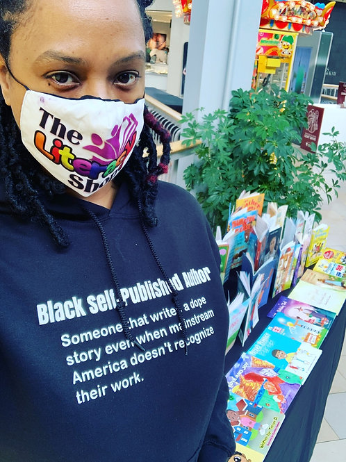 Black Self-Published Author Hoodie