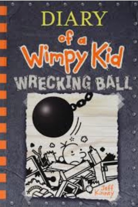 Diary of a Wimpy Kid: Wrecking Ball  Hardcover