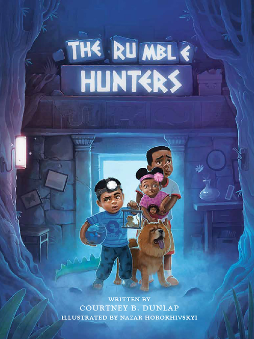 The Rumble Hunters  Hardcover