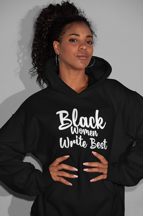 Black Women Write Best Hoodie