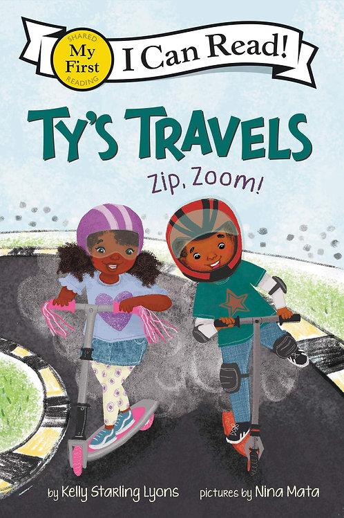 Ty's Travel Zip, Zoom!  Paperback