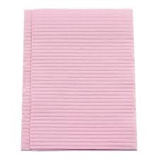 "CROSSTEX TOWEL 3PLY TISSUE 19""X13"" DUSTY ROSE CASE/500 EACH"