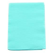 "CROSSTEX TOWEL 3PLY TISSUE 19""X13"" BLUE CASE/500 EACH"