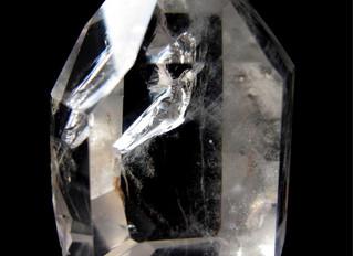 Faery inside Quartz Crystal