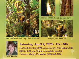 Believing is Seeing! H.O.M.E Center, Salem, OR  Saturday, April 4, 2020 Time: 2-4 pm. Fee: $15