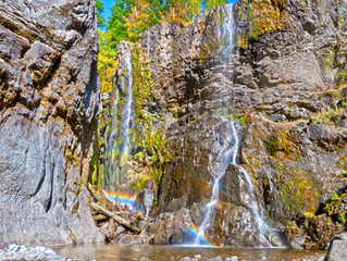 Rainbow Portal at Henline Falls-Lyons, OR