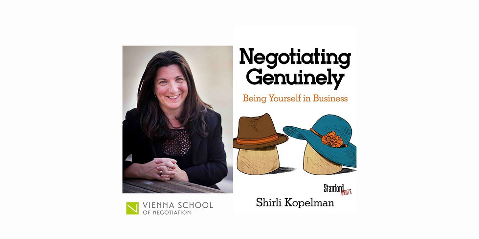 Explore Your Hats in Negotiations with Prof. Shirli Kopelman
