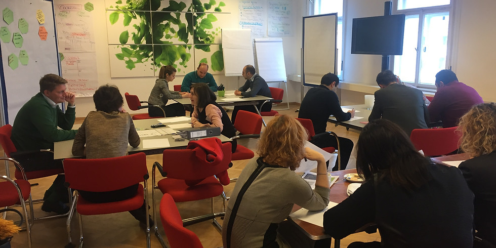 7. Negotiation Facilitator Programm - in 4 Modulen zum Diplom